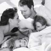 Сімейний підряд брук шилдс в рекламі товарів для дому