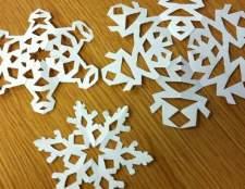 Виготовлення сніжинок з паперу: рукодільна зима