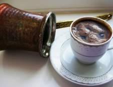 Як готувати каву в турці: справжня бадьорість